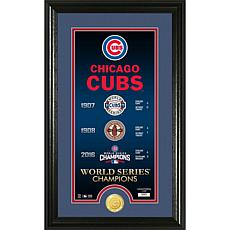 Chicago Cubs Legacy Supreme Bronze Coin Photo Mint