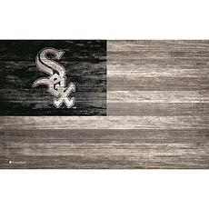 Chicago White Sox Distressed Flag 11x19
