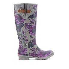chooka Hattie Floral Matte Finish Rain Boot