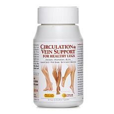 Circulation and Vein Support for Healthy Legs - 60 Capsules