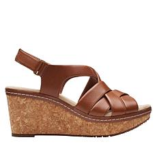 Clarks Collection Annadel Rayna Wedge Sandal