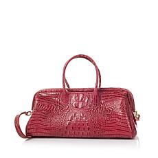 Clever Carriage Palm Beach Leather Satchel - Limited Quantity