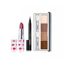 Clinique All About Shadow Quad with Pop Lip and Eyeliner Pen