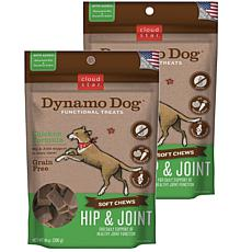 Cloud Star  Dynamo Dog Hip & Joint - Chicken 14 oz Functional Treat...