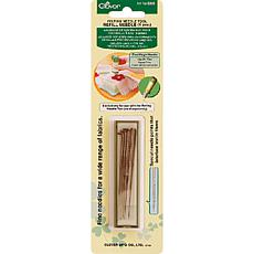 Clover Felting Needle Tool Refill Fine Weight 5/Pkg -