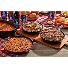 Coach Joe's Pulled Pork, Pulled Turkey, Beans & Stew BBQ Kit AS