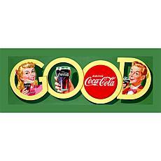 """Coca-Cola """"Good"""" Canvas Art"""
