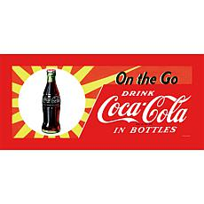 "Coca-Cola ""On the Go"" Canvas Art"