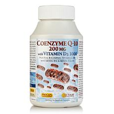 CoEnzyme Q-10 200 with Vitamin D3 1000 - 240 Capsules