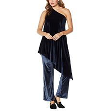 Coldesina Genevieve 2-piece Velvet Top and Pant