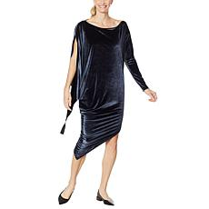 Coldesina Jenny Long-Sleeve Velvet Dress