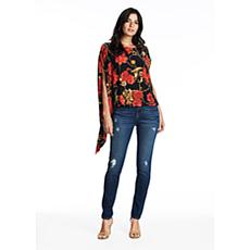 Coldesina Jenny Top in Red Rose