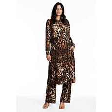 Coldesina Jet Set Top in Leopard