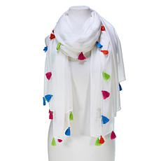 Collection 18 Tassel Pareo Scarf