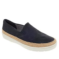 Collection by Clarks Marie Pearl Leather Slip-On Espadrille Sneaker