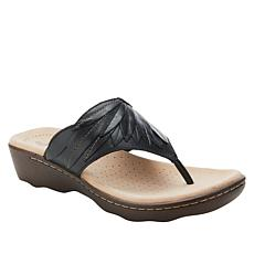Collection by Clarks Phebe Pearl Leather Thong Sandal
