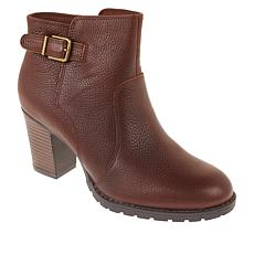Collection by Clarks Verona Gleam Leather Bootie