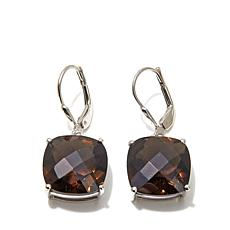 Colleen Lopez 14.26ctw Smoky Quartz Drop Earrings