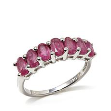 Colleen Lopez 1.82ctw Thai Ruby  Oval Stone Ring