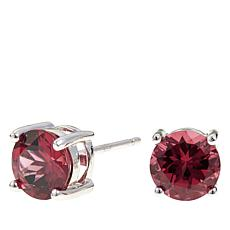Colleen Lopez 2.75ctw Round Rhodolite Stud Earrings