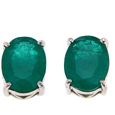 Colleen Lopez 2ctw Oval Gemstone Stud Earrings