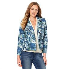 Colleen Lopez Blooming Botanical Moto Jacket