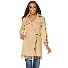 Colleen Lopez Brunch's Best Lace-Trimmed Trench