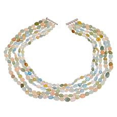 Colleen Lopez Colors of Beryl 5-Strand Beaded Necklace
