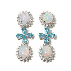 Colleen Lopez Ethiopian Opal, Apatite & Gem Earrings