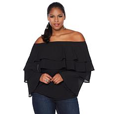 Colleen Lopez Fabulous Influence Off-Shoulder Blouse