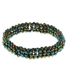 Colleen Lopez Faceted Spinel Beaded Stretch Bracelet