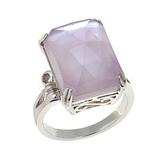Colleen Lopez Gemstone and Mother-of-Pearl Doublet Ring