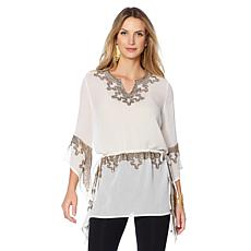 Colleen Lopez Glamorous Guest Luxe Beaded Top