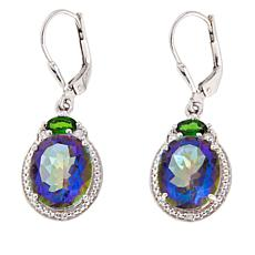 Colleen Lopez Mystic Quartz and Gem Drop Earrings