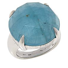 Colleen Lopez Sterling Silver Aquamarine Ring
