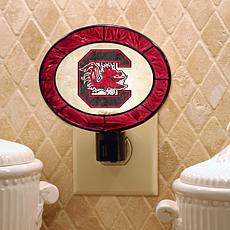 Collegiate Art Glass Nightlight - South Carolina
