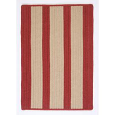 Colonial Mills Boat House 8' x 11' Rug - Rust Red