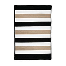 Colonial Mills Portico 3' x 5' Rug - Sharp Black