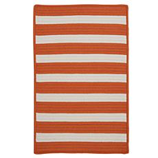Colonial Mills Stripe It 2' x 3' Rug - Tangerine