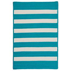 Colonial Mills Stripe It 2' x 3' Rug - Turquoise