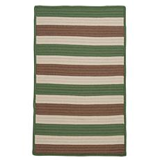 Colonial Mills Stripe It 3' x 5' Rug - Moss/Stone
