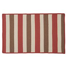 Colonial Mills Stripe It 3' x 5' Rug - Terracotta