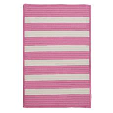 Colonial Mills Stripe It 8' x 11' Rug - Bold Pink