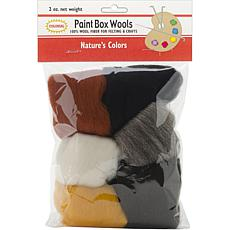 Colonial Needle Paint Box Set of 6 Wool Yarn - Nature