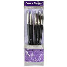Color Shaper Painting Tool & Pastel Blending Assorted No. 6 5-pack