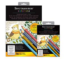 Colorista Premium Pencil Pad - Natural Beauty