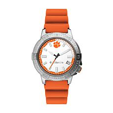 Columbia Men's Peak Patrol Clemson Orange Silicone Strap Watch