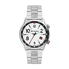 "Columbia ""Outbacker"" Men's White Dial Bracelet Watch"