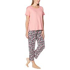 Comfort Code Soft & Light Knit Top and Ankle Pant Set