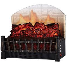 Comfort Glow Electric Log Insert Reflecting Back Screen